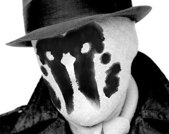 Look Stylish With Changing Rorschach Mask